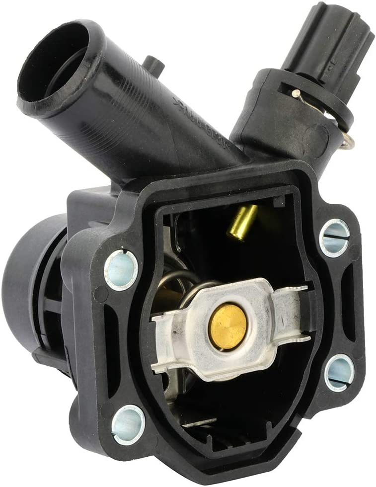 LUJUNTEC Coolant Thermostat Fit for Volvo V70 2008-2010,for Volvo ...