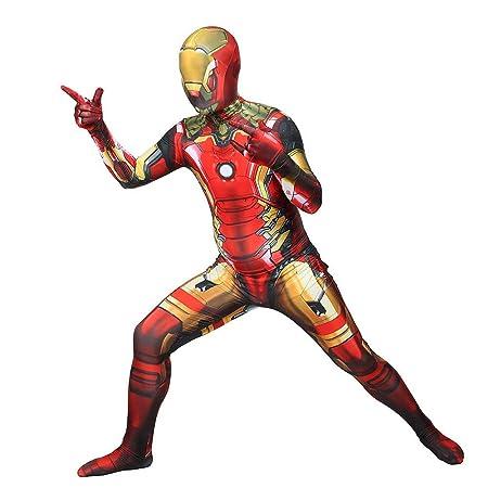 WOLJW Iron Man mascarilla para niños El Traje Traje ...