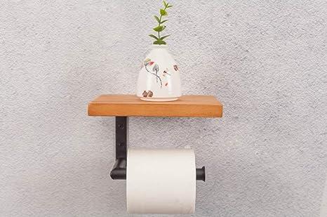 SMQ bandeja de papel higiénico baño Toalla de Papel Porta Rollos de Inodoro Bandeja de baño