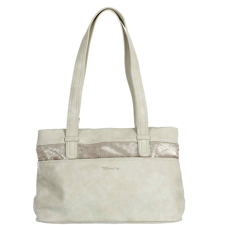 Tamaris Damen Khema Shoulder Bag Schultertasche, 10,5x22x32,5 cm B079YJ5591 Schultertaschen Schultertaschen Schultertaschen In hohem Grade geschätzt und weit Grünrautes herein und heraus 2856af