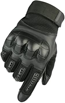 Military Tactical Airsoft Outdoor Sport Hunting Hard Knuckle Full Finger Gloves