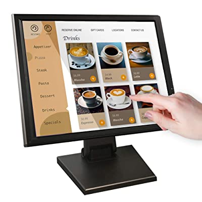 17-inch HDMI Resistive Touch Screen POS LED Monitor