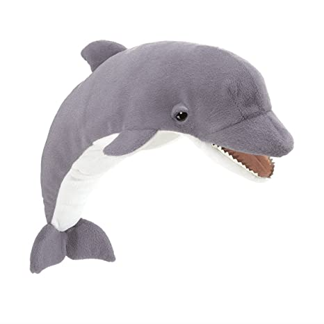 Amazon Folkmanis Dolphin Hand Puppet Toys Games