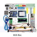 Sunhokey UNO R3 Starter Kit Upgraded Version with Tutorial for Arduino