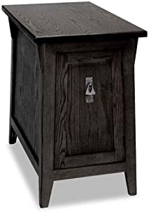 Leick Furniture Favorite Finds Mission Cabinet End Table in Slate