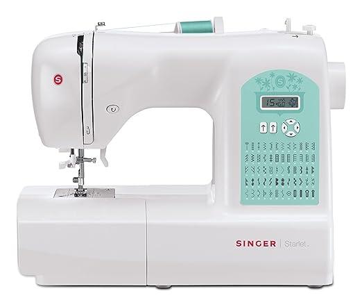 Singer Starlet 6660, máquina de coser electrónica, 60 puntos: Amazon.es: Hogar