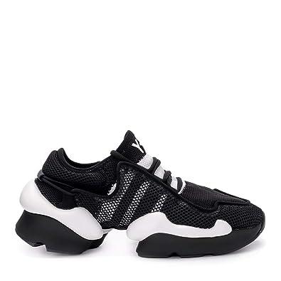 d356e6930da1 adidas Y-3 Men s Y-3 Ren Black Mesh Sneaker 7