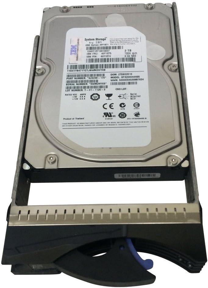 IBM 49Y1871 IBM 2TB 7200RPM 6GB SAS NL 3.5 HDD FC