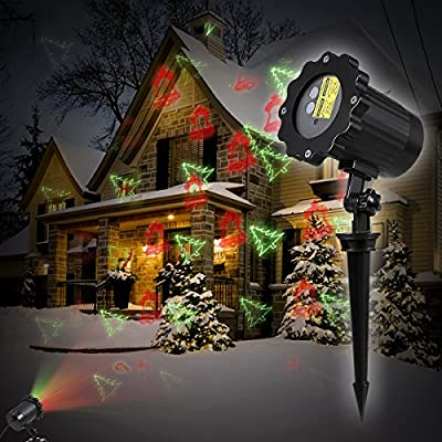 B-right Multi-pattern Christmas Projector Light