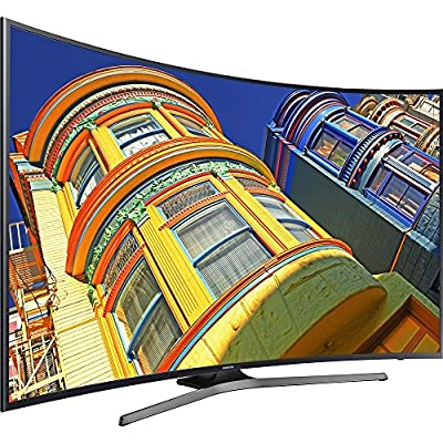 "Samsung UN65KU649DFXZA  65"" LED TV, Black (Certified Refurbished)"