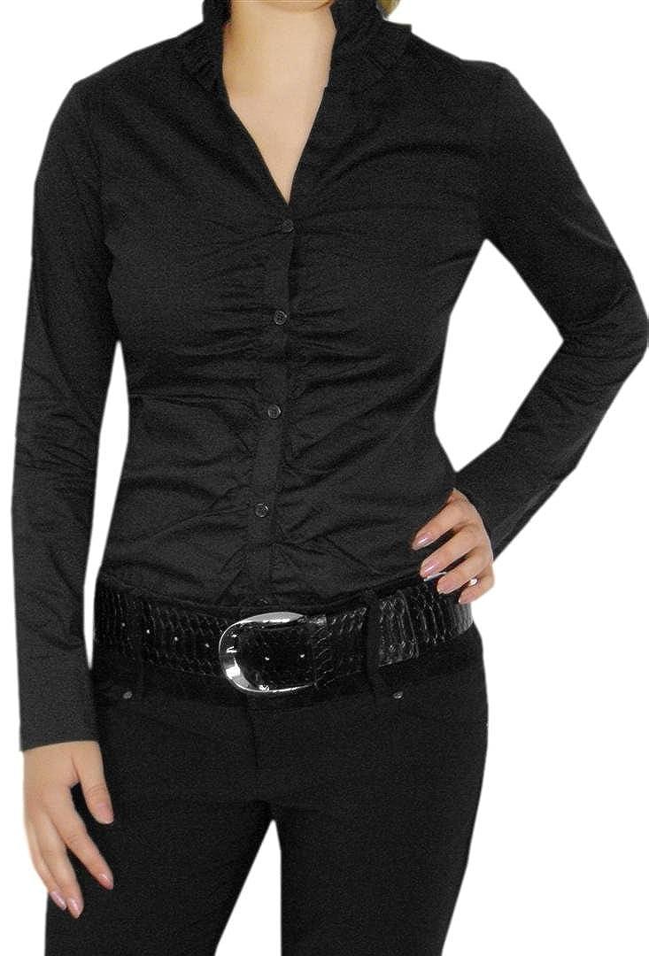 Elegante camicia da donna, con V-taglio camicette body, Business laukaa