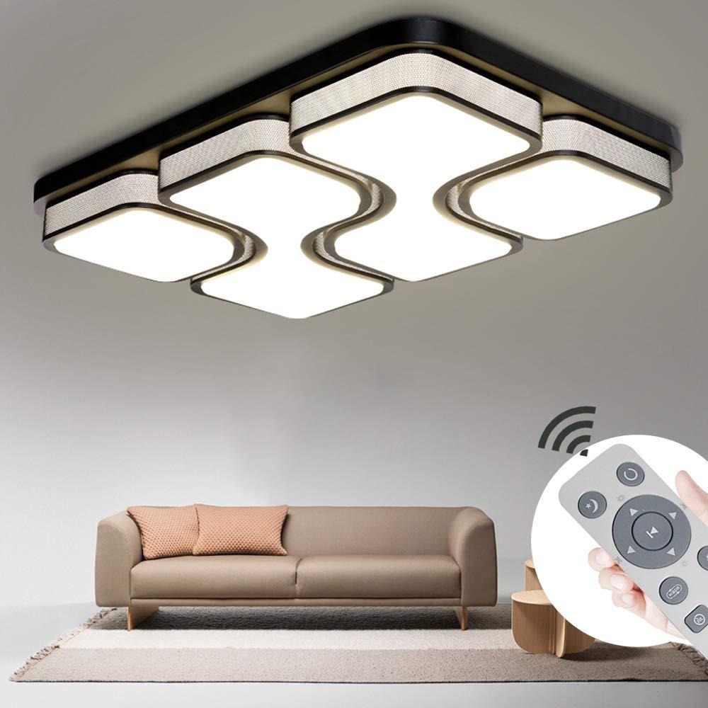 Energieklasse A++ COOSNUG 8W LED Deckenleuchte Weiß Quadrat