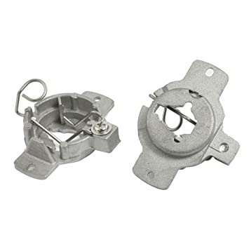 Amazon.com: uxcell 2 Pcs Xenon H1 HID Bulb Holders Retainers Adapters: Automotive