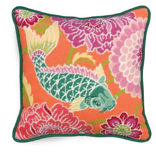 Dimensions Crafts NeedleCrafts Needlepoint, Koi with Flowers