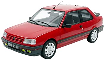 Noreva NV184880 1998 Peugeot 309 Gti - Modelos fundidos, escala 1:18, color