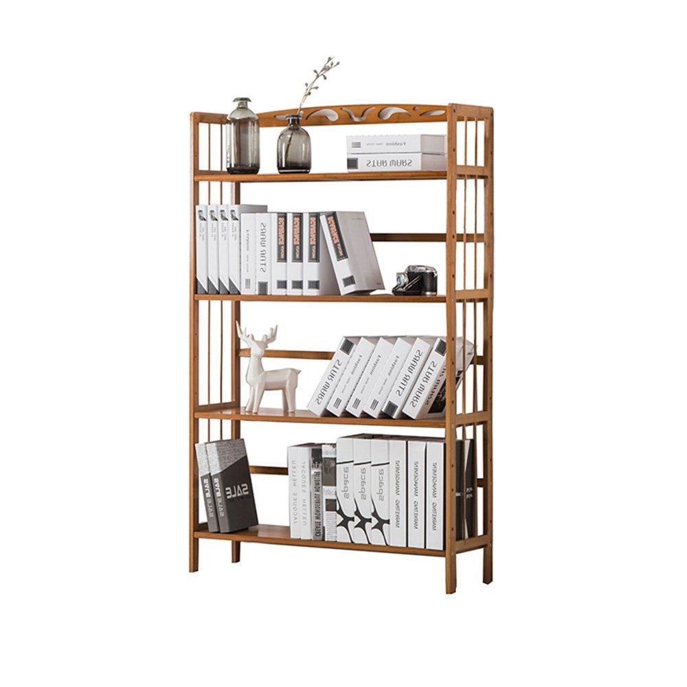 tienda en linea 8026125cm Biblioteca Sexy 4 5 6-tier Bookcase Modern High High High Capacity Bamboo Simple Estante de Madera Maciza de múltiples Capas Simple Bookshelf (Tamaño   80  26  125cm)  orden en línea