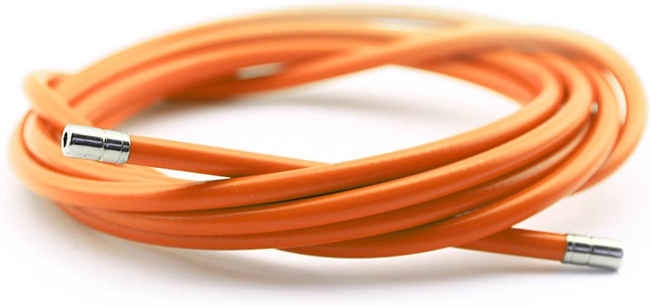 Funda Color Naranja para Cable de Freno de Acero Laminado Sirga de ...