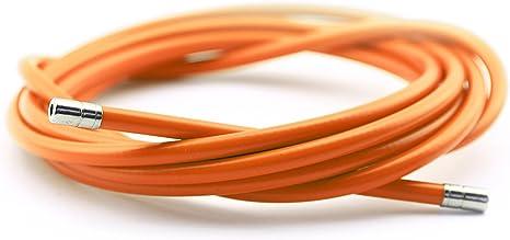 Funda Color Naranja para Cable de Freno de Acero Laminado ...