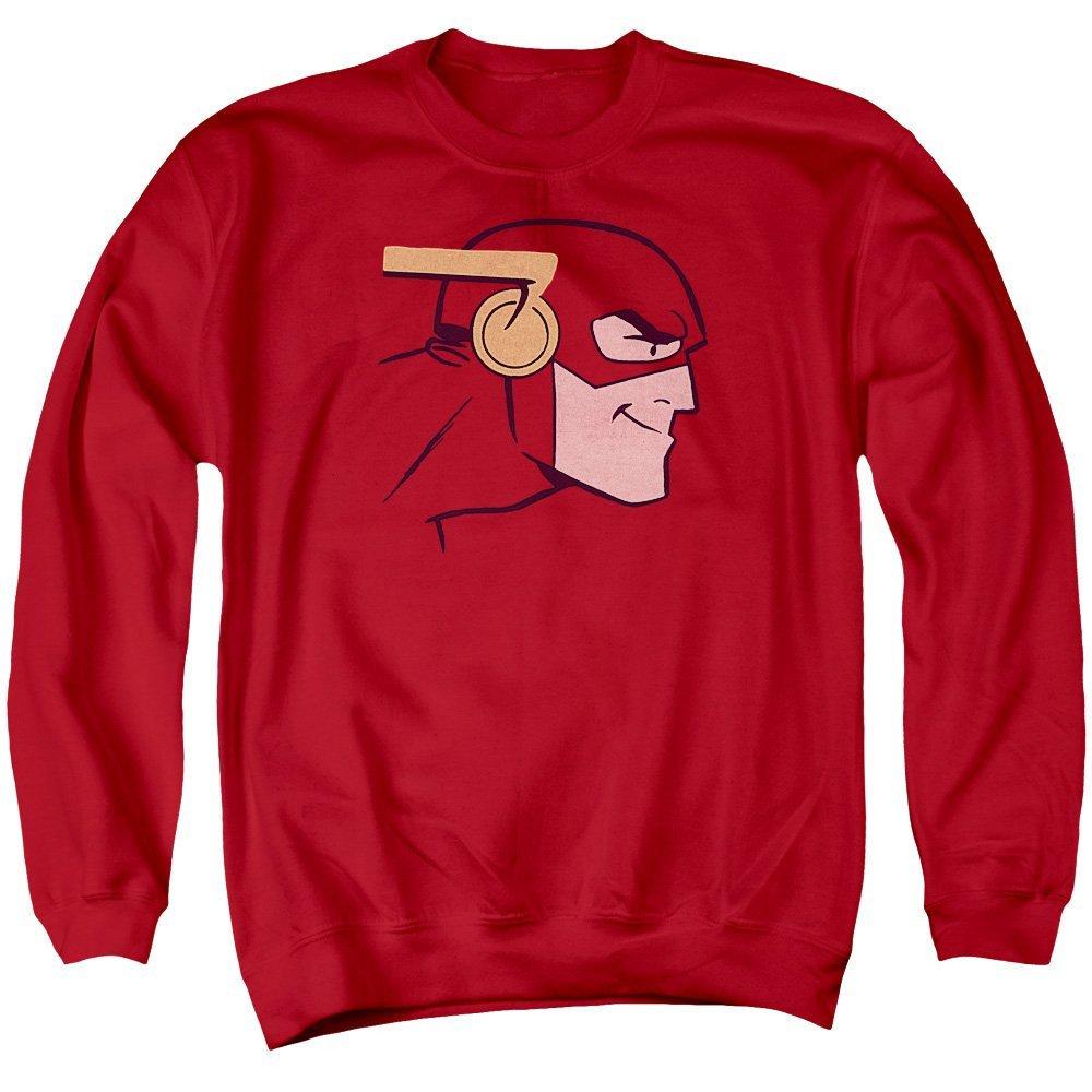 Cooke Head Adult Crewneck Sweatshirt Justice League of America