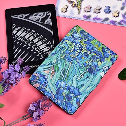 Kindle Paperwhite Book Cover Art : Kandouren case cover for kindle paperwhite iris art skin