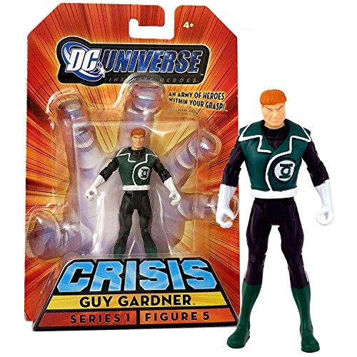 Mattel Year 2008 DC Universe Series 1 Infinite Heroes Crisis 4 Inch Tall Action Figure #5 - Hero Green Lantern GUY GARDNER