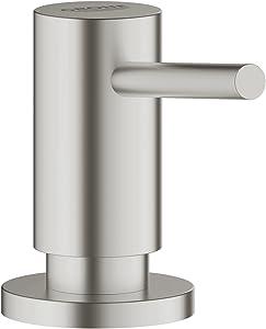 Grohe Cosmopolitan Soap/Lotion Dispenser,SuperSteel InfinityFinish