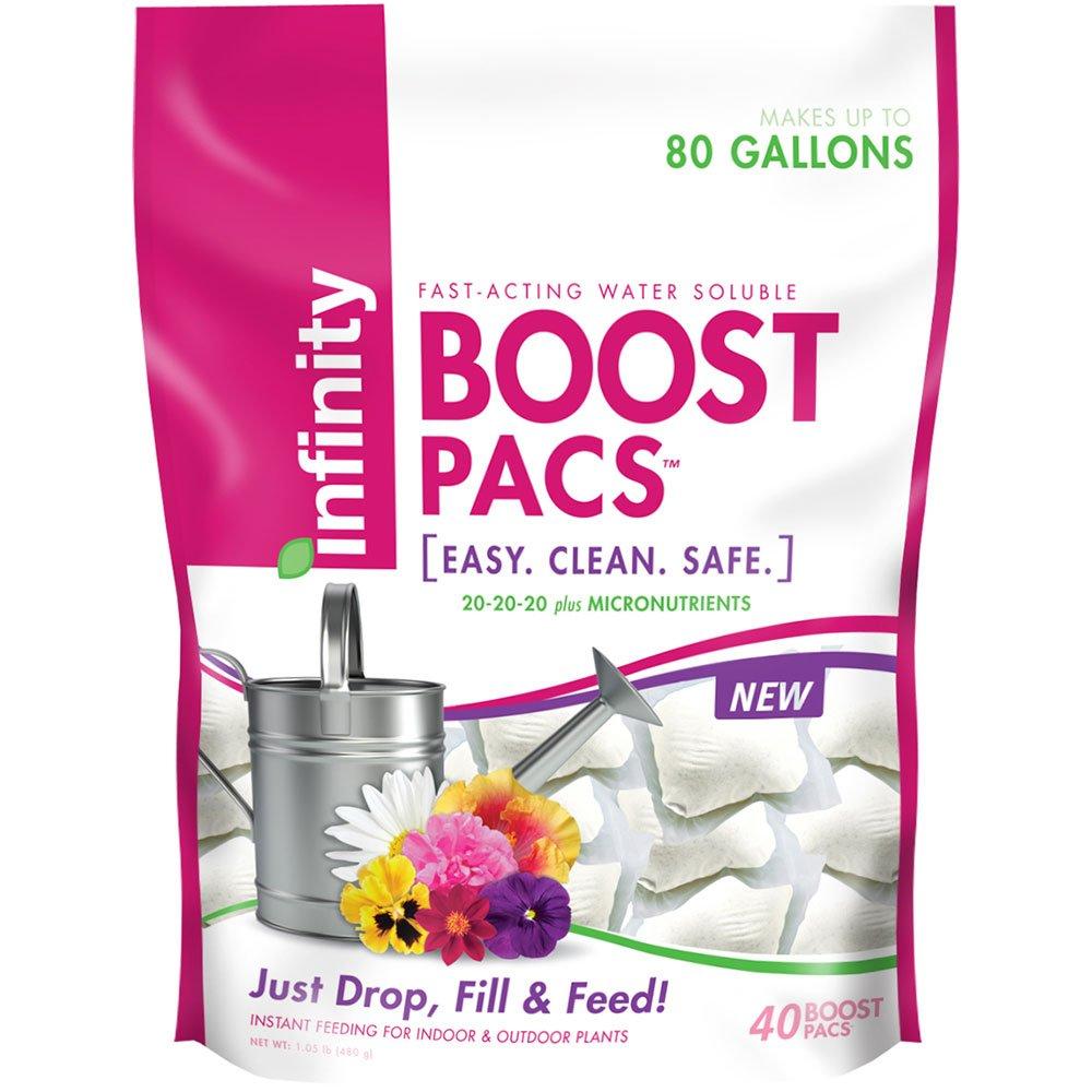 Infinity 20-20-20 40 Count Boost Pacs Fertilizer