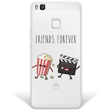 WoowCase Funda Huawei P9 Lite, [Hybrid] Friends Forever ...
