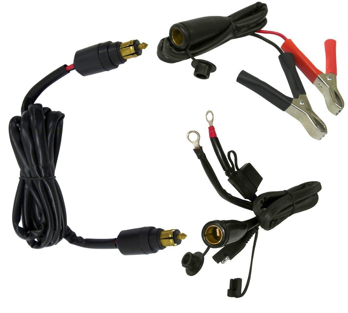 EKLIPES EK1-115 Black Universal Bike-2-Bike Jump Start Kit