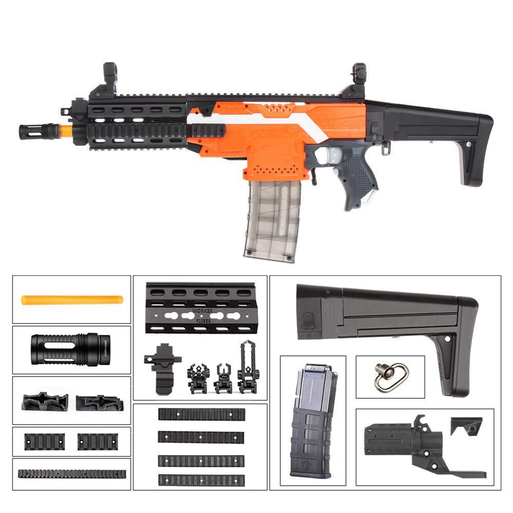 venta al por mayor barato WORKER F10555 F10555 F10555 XCR-L Mini(negro Adaptor) for Nerf N-Strike Stryfe Blaster  el más barato