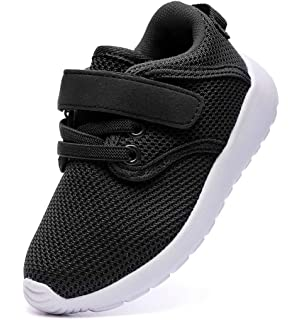 44c9e55528a59 DADAWEN Boy s Girl s Lightweight Breathable Sneakers Strap Athletic Running  Shoes