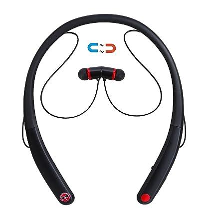 03bd02b3e78 Bluetooh Headphones, Stoon V4.0 Wireless Sweatproof Neckband Bluetooth  Headset In Ear Stereo Earphones