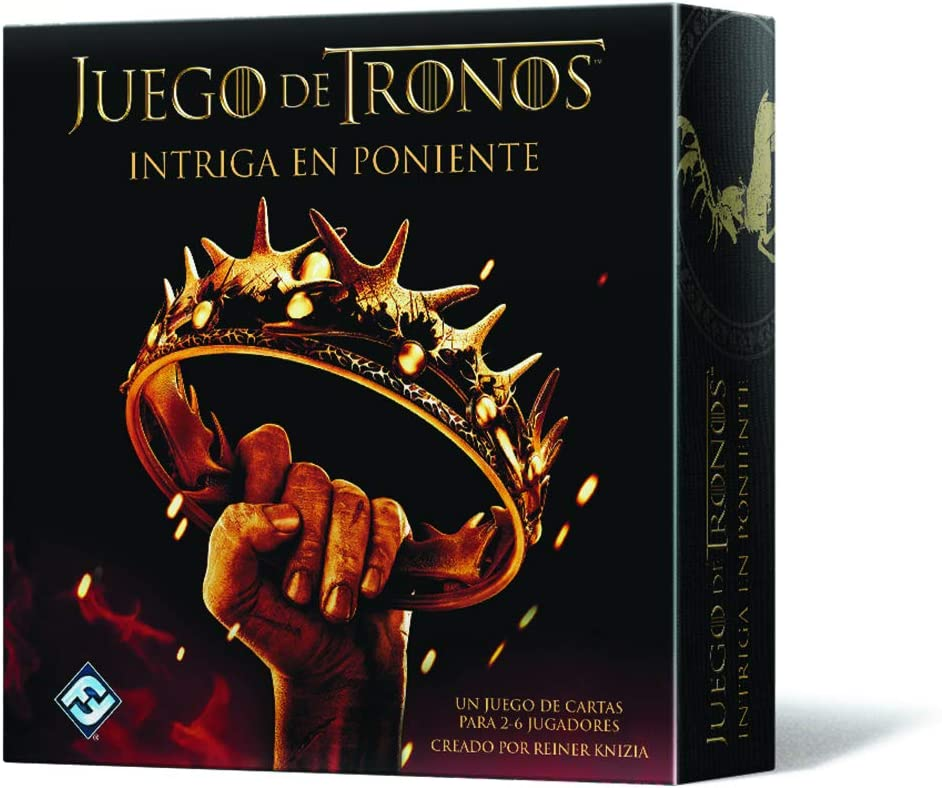 Fantasy Flight Games Juego de Tronos - Intriga en Poniente (Edge ...