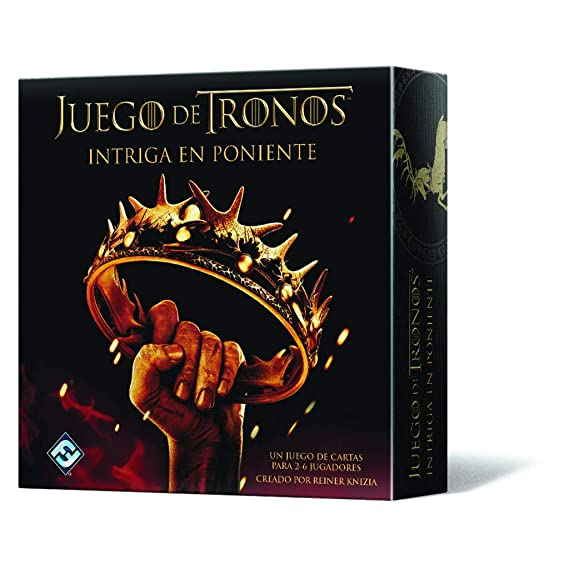 Fantasy Flight Games Juego de Tronos - Intriga en Poniente (Edge Entertainment FFHBO08)