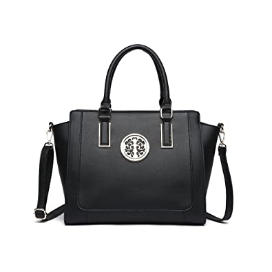 50c81226956a LeahWard Large Size Tote Bags For Women Nice Faux Leather Shoulder Bag  Handbags For School Office