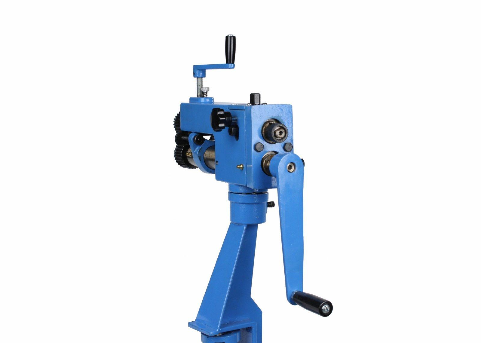 Erie Tools Rotary Machine Bead Roller Sheet Metal Forming /& Steel Bender HVAC Fabrication with 22 Gauge Capacity