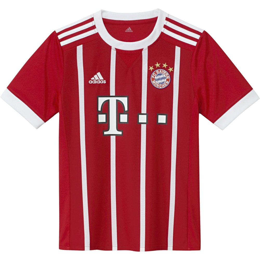 Amazon.com : adidas FC Bayern Munich Home Youth Jersey [FCBTRU] : Clothing
