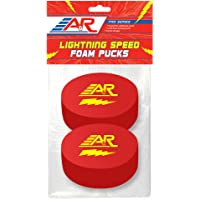 A&R Sports Pro Series Lighting Speed Foam Pucks (Pack of 2)