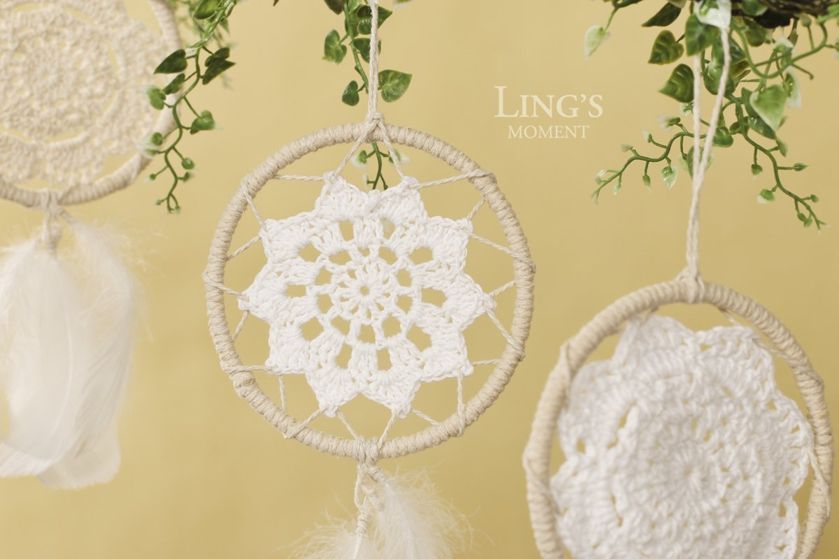 Amazon.com: ling\'s moment Mini Dream Catchers, Boho Wedding Party ...