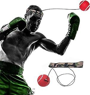 SONSYON Fight Ball - Balle de Boxe Amélioré pour la Formation de Réflexes et de Coordination