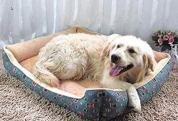 Wuwenw Cama Grande para Perros Perrera Suave Alfombrilla De Felpa Cojines para Mascotas Alfombra De Cama