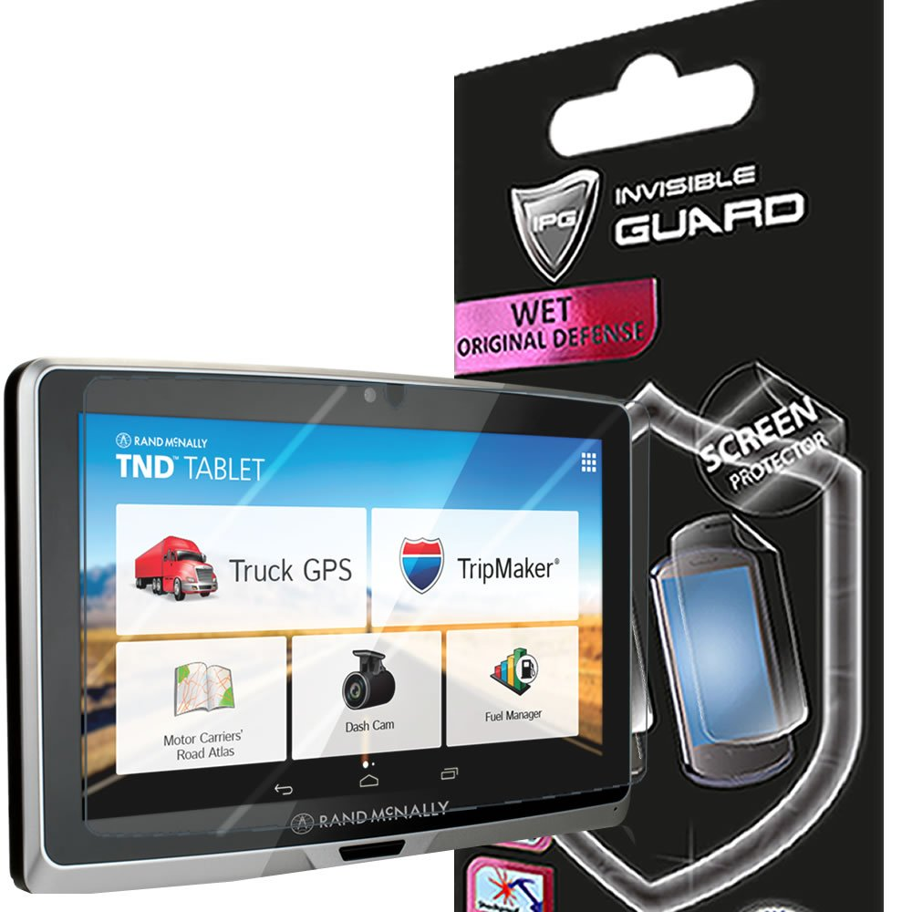 For Rand McNally TND 70 ( 7'' dashboard tablet ) Screen Protector Film with Lifetime Replacement Warranty Invisible Protective Screen Guard - HD Quality / Self-Healing / Bubble -Free By IPG