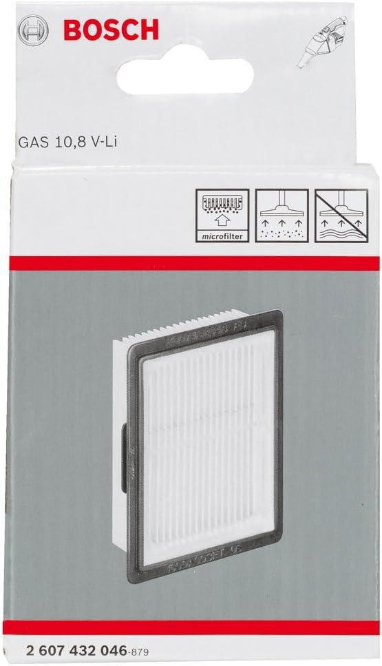 Bosch 2 607 432 046 Filtro, Negro, Amarillo, Celulosa accesorios para extractores de polvo