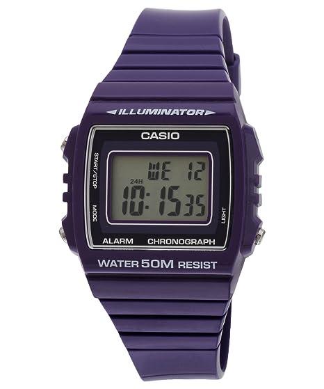 870f751ea2c7 CASIO Reloj con Movimiento Cuarzo japonés W-215H-6  Amazon.es  Relojes