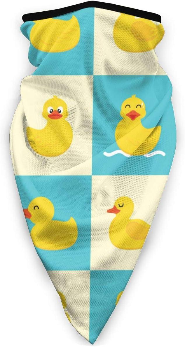 None Brand, pañuelo elástico para la cara, con diseño de pato ...