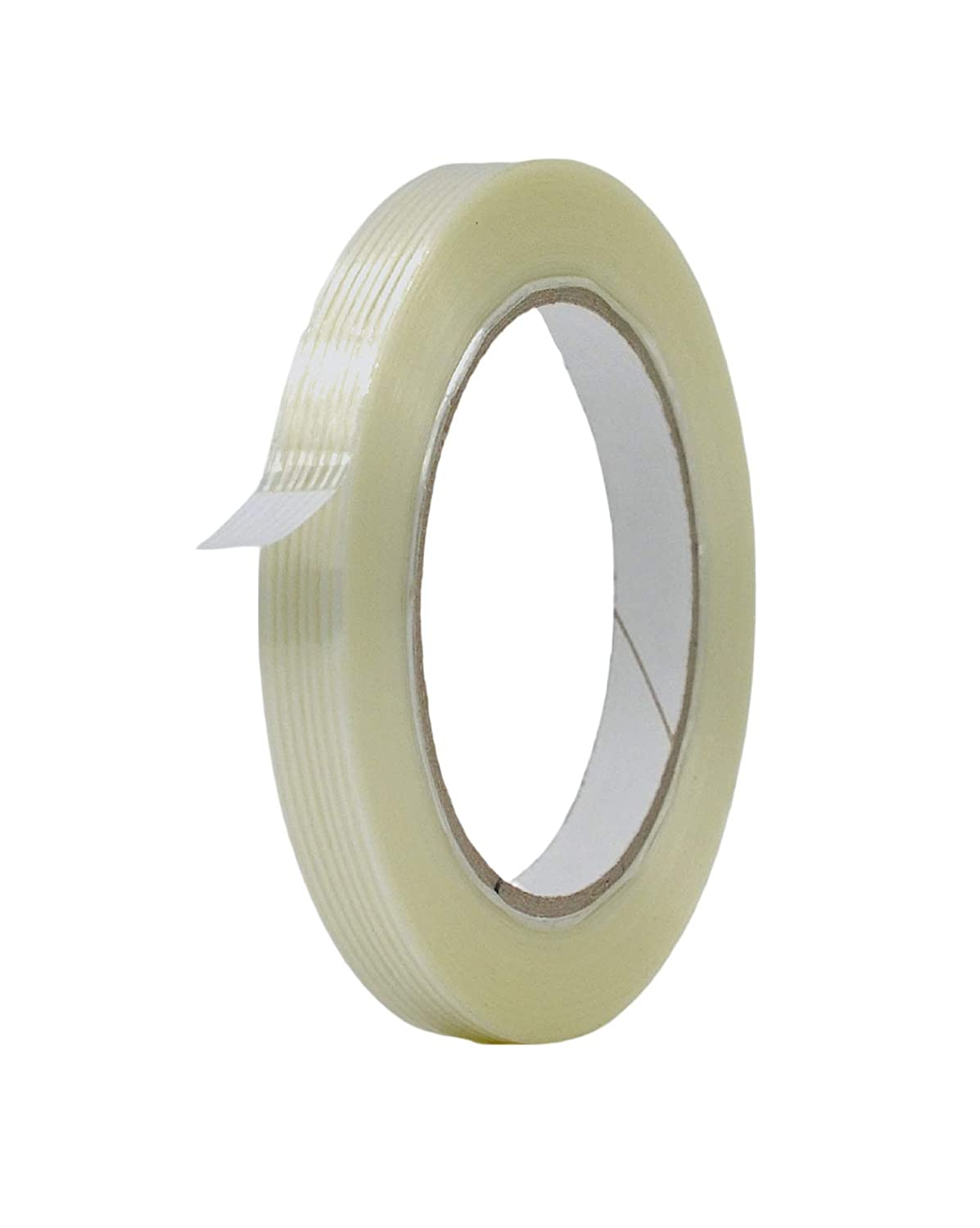 MAT Commodity Grade Fiberglass Reinforced Filament Strapping Tape - 1/2 in.  Wide x 60 yds. (Pack of 1) Filaments Run Lengthwise: Amazon.in: Office  Products