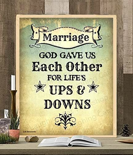 Amazon Com Wedding Typography Decor Marriage Married Art God Quote Print Rustic Country Love Print Texas Star Art Texan Southern Southwestern Wedding Diy Wedding Anniversary Gift Handmade