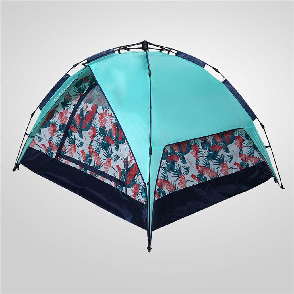 XY&CF Camping Zelt automatik Speed Offene Dome Zelt Outdoor Sports Doppelt Zelt Wandern Dual Zweck 3 Season 3–4 Personen
