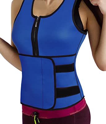 1b4ea7cf5d Waist Trimmer Trainer for Men Women Thermo Waist Trainer Vest