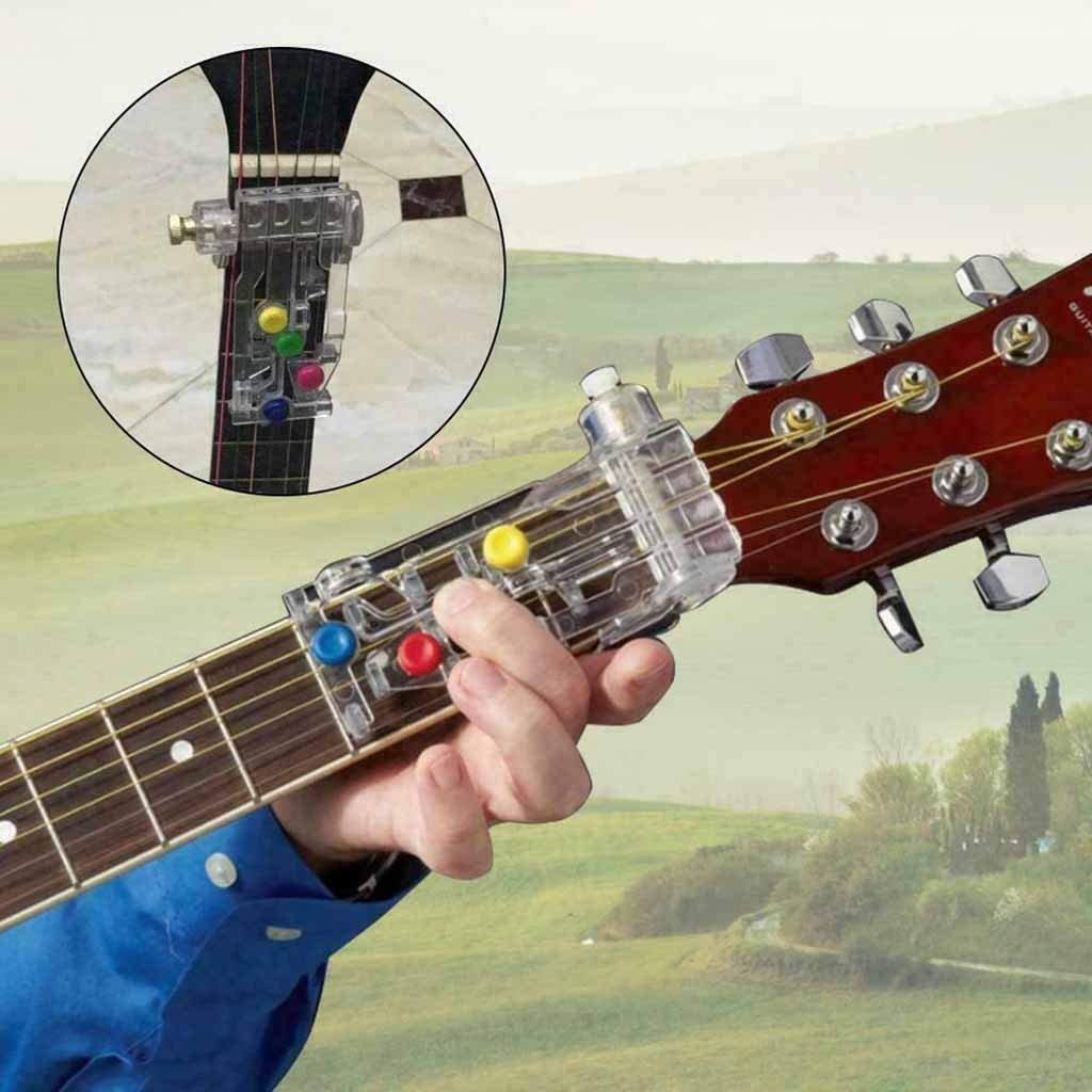 Guitar Learning System Valentines Day Gift Funiup Classical Chord Buddy Guitar Learning System for Right Handed Guitars for Beginner to Advanced Learning of Guitar